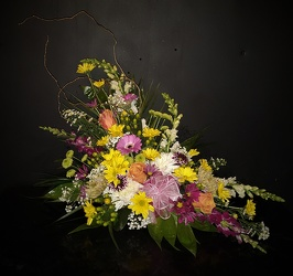 Sunshine Slant from Flower Works II, your Medford area florist