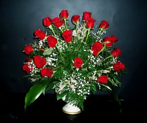 3 Doz Roses from Flower Works II, your Medford area florist