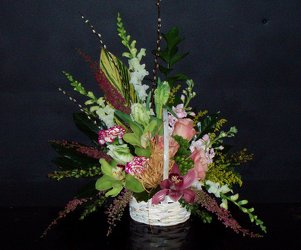 Basket Arrangement from Flower Works II, your Medford area florist