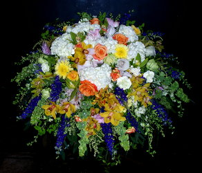 Mixed Casket Spray 03 from Flower Works II, your Medford area florist