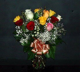 Dozen Roses from Flower Works II, your Medford area florist