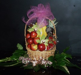Fruit Basket from Flower Works II, your Medford area florist