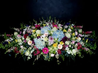 Full open Casket Spray lg 02 from Flower Works II, your Medford area florist