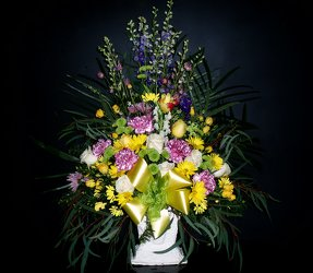 Funeral Basket med from Flower Works II, your Medford area florist
