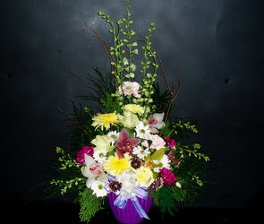 Mixed Arrangement 03 from Flower Works II, your Medford area florist