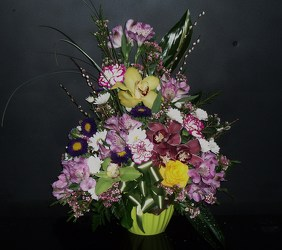 Mixed Arrangement from Flower Works II, your Medford area florist