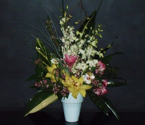 Tropical Bliss from Flower Works II, your Medford area florist