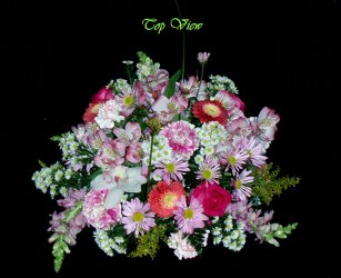 Round Table Centerpiece from Flower Works II, your Medford area florist