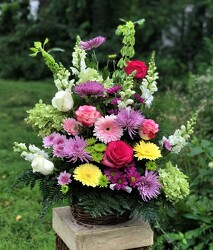 3/4 sided Celebration Arr. from Flower Works II, your Medford area florist