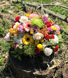 Sunshine bouquet from Flower Works II, your Medford area florist