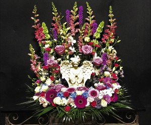 Cremation Wreath from Flower Works II, your Medford area florist